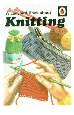 Buy KNITTING a Vintage Ladybird Book from the Hobbies Series 633 Matt Hardback Re-issue from 2008 The Reader is taken step by step Spot Books, My Books, Eric Winter, Ladybird Books, Vintage Children's Books, Vintage Posters, Illustrations, Couture, Childhood Memories