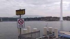 Conhecendo  o Jet d'eau de Geneve - Suiça