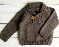 Baby Boy Sweater - 12 to 18 Month Size Wool Pullover With Colorful Cars Toddler Jerseys, Toddler Boys, Baby Boys, Brown Sweater, Men Sweater, Shawl Collar Sweater, Baby Kind, Baby Sweaters, Baby Knitting