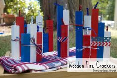 Sowdering About in Seattle: Last minute Fourth of July crafts; Part 1