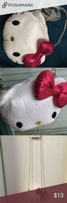 Hello kitty little bag for girls Hello kitty little bag for girls good condition Hello Kitty Bags Crossbody Bags