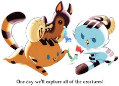 Tigerbuttah Capture Creatures by Pocketowl on @DeviantArt