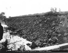 Lidgerwood unloader at Tabernilla dumps