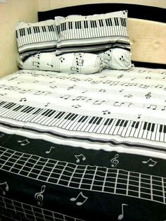 Music Note - Comforter Set For Bedroom