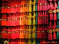 Chinese Infinity Knot Tassels from Cargo in Portland, Oregon via WanderShopper