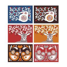 PaaPii: Joulukortit 2012