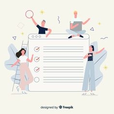 Discover thousands of copyright-free vectors. Graphic resources for personal and commercial use. Thousands of new files uploaded daily. Website Illustration, Business Illustration, Flat Illustration, Graphic Design Illustration, Digital Illustration, Illustrations, Design Plat, Flat Design, Design Ios