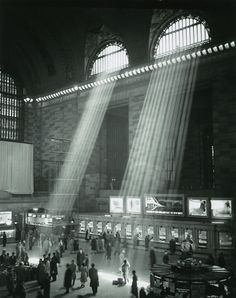 Grand Central Station, New York 1957 © Estate Brassaï