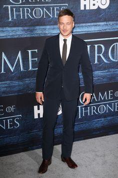 Tom Wlaschiha à l'avant-première de la saison 6 de Game of Thrones