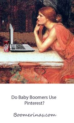 Do Baby Boomers Use Pinterest? Find out what this demographic pins (and repins) and how to spot Baby Boomers at http://boomerinas.com/2013/03/are-baby-boomers-on-pinterest-yes-if-theyre-women/