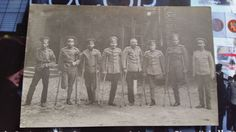 Top Rare Russian Tsarist Officers Prisoners War German POW Camp Amputee Wounded