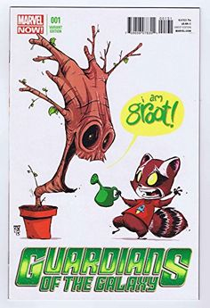 Guardians Of The Galaxy #1 Skottie Young Baby Movie Variant Rocket Raccoon and Groot 2013 Marvel Com @ niftywarehouse.com #NiftyWarehouse #GuardiansOfTheGalaxy #Marvel #Movies #ComicBooks #Comics #MarvelMovies