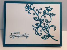 My Creative Corner!: A Flourishing Phrases and Flourish Thinlits Sympathy Card