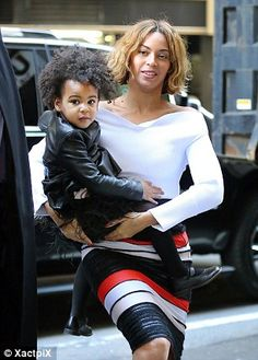 Pushy: Tina revealed that when she and Richard were on vacation with Beyonce and Jay Z in September,  Blue Ivy asked them: 'When are ya'll getting married?' Asked if she'd approve of it, the little girl said yes