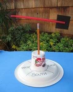 Activities: Make a Wind Vane.   Construct and use tools to observe and measure weather phenomena like precipitation, changes in temperature, wind speed and direction. Experience and describe wind as the motion of the air.