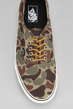 Vans Authentic Camo Men's Sneaker