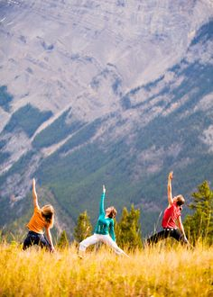 Eco Yoga Retreat in the Canadian Rocky Mountains-hiking, meditation and yoga in inspiring mountain landscapes.