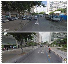 Av. Henrique Valadares, Rio de Janeiro, Brazil Pedestrian, Pavement, Mtg, Walkway, Paths, Sidewalk, Urban, Landscape, Street