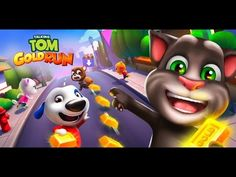 Talking Tom Gold Run Game Trailer IOS ANDROID Official Teaser 2017 New G...
