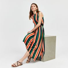 Discover new season clothes and accessories at Warehouse. Shop the latest style and trends across women's and men's fashion now. Striped Midi Dress, Floral Midi Dress, Midi Dresses Online, Wide Stripes, Business Casual, Cold Shoulder Dress, Summer Dresses, Wedding, Shopping