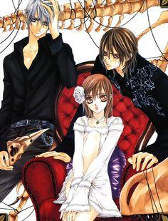 Matsuri Hino, Vampire Knight, Kuran Kaname, Yuki Cross, Kiryuu Zero, Pillow