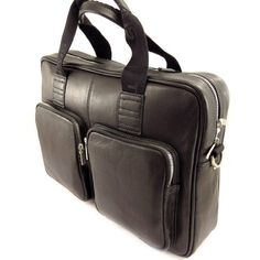 Briefcase leather 'Ted Lapidus' black.  http://www.alltravelbag.com/briefcase-leather-ted-lapidus-black/