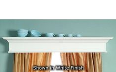 The Crestwood custom wood cornice valance will bring elegance to your windows or doorways. All installation hardware and instructions are included. Valences For Windows, Window Cornices, Wood Windows, Custom Windows, Window Coverings, Window Treatments, Wood Cornice, Wood Valance, Dentil Moulding