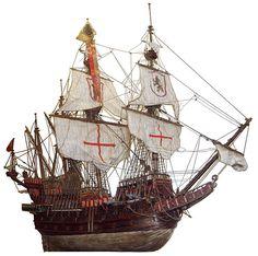 西班牙加利恩帆船 Spanish Galleon, wooden ship model from the Museo Storico Navale di Venezia (Naval History Museum) in Venice, Italy. Manila, Spanish Galleon, Scale Model Ships, Old Sailing Ships, Ship Drawing, Naval History, Wooden Ship, Navy Ships, Ancient Artifacts