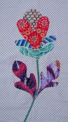 FOLK ART FLOWER - Kim McLean's Flower Garden