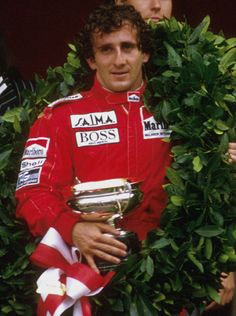 Alain Prost (F) after leaving McLaren in 1981 for Renault, The Frenchman returned in 1984 and won three world championships for McLaren: 1985, 1986 and 1989.