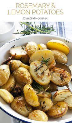 Rosemary & Lemon Sautéed Potatoes Recipe - with rosemary, lemon ...