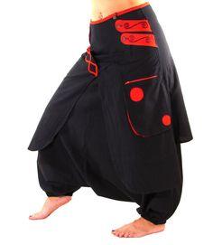 Harem Pants  Skirt   Aladdin Trousers  Afghani  Rave by manaKAmana, $55.00