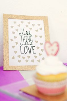 """A Little Thing Called Love"" Sign available at Diamond Excellence Weddings & Other Finer Events 