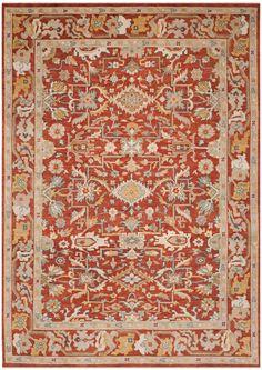 Rug SUL1070A - Safavieh Rugs - Sultanabad Rugs - Wool Rugs - Area Rugs - Runner Rugs