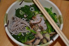 Buckwheat Soba Noodles with Pork Loin – Fiterazzi
