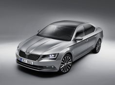 The new ŠKODA top model is also more distinctive thanks to its larger wheels #newskodasuperb #superb #skoda