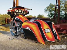 Hot Ness | 2010 Harley-Davidson Street Glide | Baggers