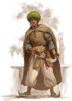 'prob'ly. Sind (w/fur cape; or maybe Jaibul or Hule [N'ern.]) regions  [Khemsa01]