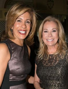 """Hoda Kotb (l.) and Kathie Lee Gifford should have great rapport with Regis Philbin on """"Today."""""""