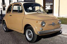 1960s 30th anniversary Fiat 500F car on eBay