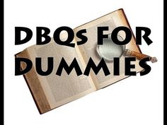 "DBQ Essays for Dummies | HipHughes takes you through essential advice for writing the notorious Document Based Essay. 5 tips which will make terrible writers mediocre, mediocre writers good and good writers great.    Love history? Come ""like"" / follow HipHughes History on Facebook! Play games like ""Bad Rhymes"" and ""Who the Hell am I""? Get you name on the scoreboard and if you're really good win swag prizes like online cred, swag and gansta brag... 