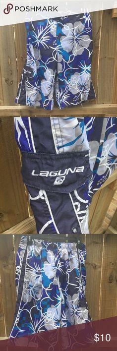 Laguna Boy's board shorts Boy's Laguna board shorts. They have been worn a few times. Fair condition. Swim Swim Trunks