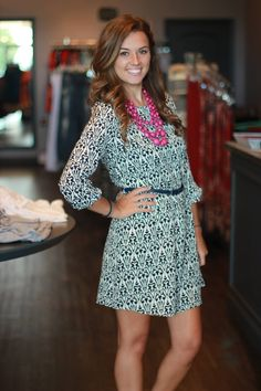 """""""Perfectly Pretty"""" dress - $38 To order: call the boutique at 317-889-1150 or email jen@jendaisy.com"""