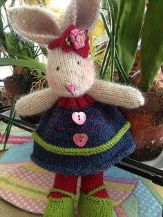 Ravelry: cyndilouwho's Les' Bunny