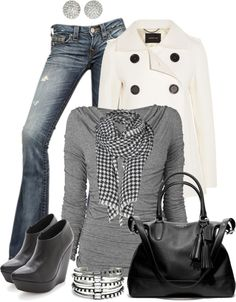 Cute outfit ...ready for fall and winter