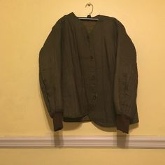 Urban outfitters vintage jacket Brand new, never worn! In perfect condition, the holes in the underarms aren't tears they are meant to be there! Urban Outfitters Jackets & Coats