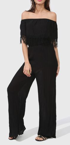 I LOVE jumpsuits!..... don't care for the fringe on this one!!!!