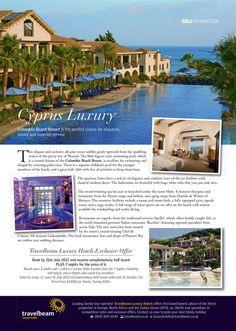 Angles & Urchins | Cyprus Elegance Luxury | Five Star Luxury Cyprus