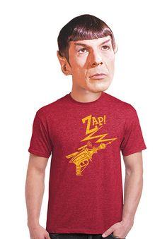 Ray Gun go Zap men's vintage shirt sci-fi gifts gift by apesnort