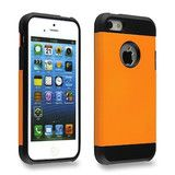 Fire up your iPhone 5 5s looks with this flaming orange tough armor back case from Bracevor!